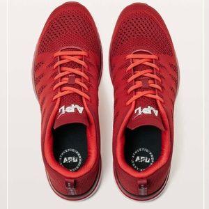 Lululemon TechLoom Pro Shoe Red / Deep Red